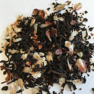 Hazelnut and vanilla black tea