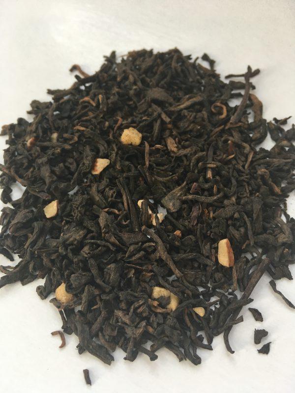 Caramel pu erh tea