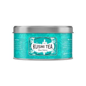 Blue detox tea