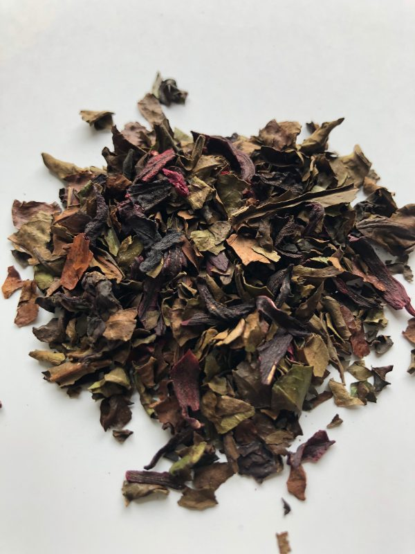 strawberry-hibiscus-coffee-leaf