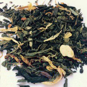 Peach-green-tea